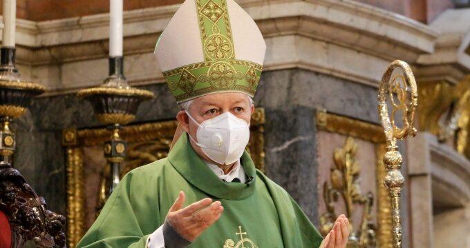 Pide arzobispo a los ciudadanos estar preparados en caso de morir