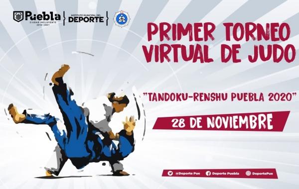 Invita Ayuntamiento a participar en el primer Torneo Virtual de Judo