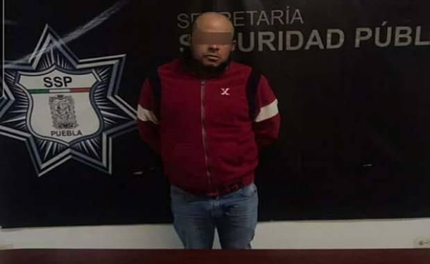 """Capturan en Texmelucan a operador financiero de el """"Loco Téllez"""""""