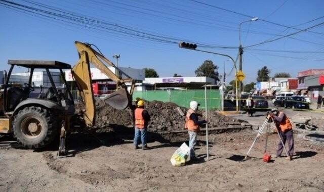 Ayuntamiento rehabilita vialidades de la zona CAPU
