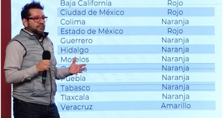 Puebla seguirá con semáforo naranja: Salud federal