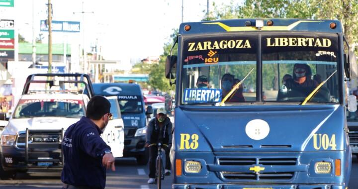 Infraccionó STM a 2 mil 321 unidades de transporte público