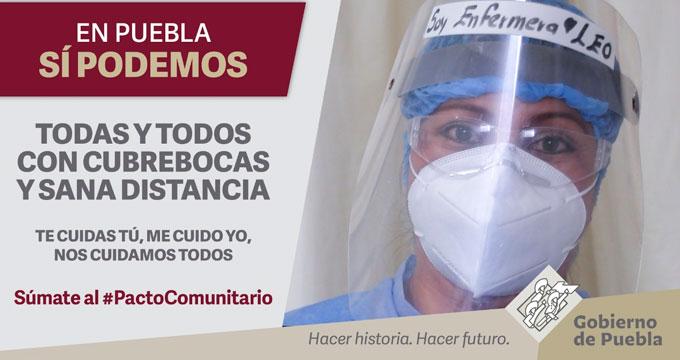 Reconoce Facebook a Puebla  por campaña virtual contra el Covid