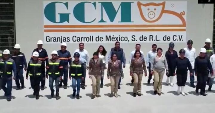 Pese al coronavirus, Granjas Carroll mantuvo operaciones y plantilla