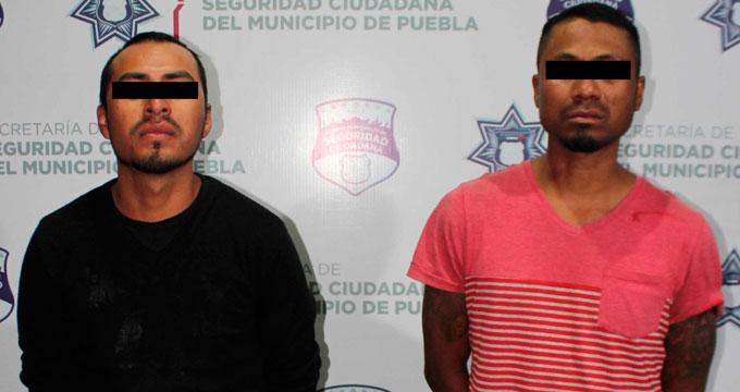 Capturan a tres hombres por delitos contra la salud en Puebla