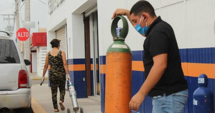 Serán vigilados los precios de tanques de oxígeno medicinal por el Gobierno Estatal