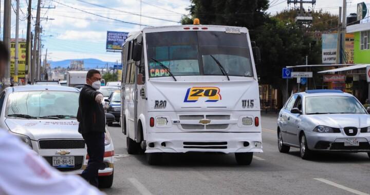 Supervisa SMT más de 3 mil unidades de transporte público