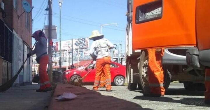 Pese a protestas de naranjitas no se suspende servicio de limpia