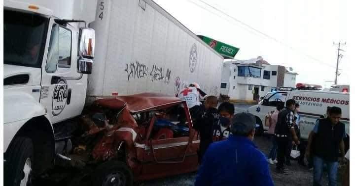 Accidente en la México-Puebla deja varios lesionados
