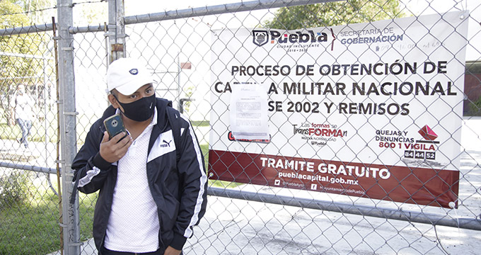 Este lunes iniciará el proceso de entrega de la cartilla militar