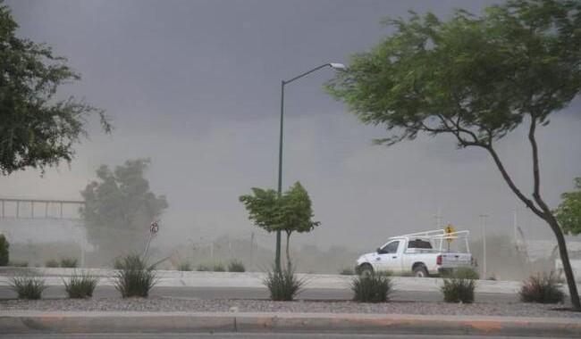 Afectaciones menores por viento en el estado