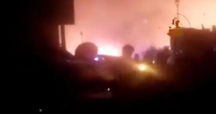 Reportan incendio en Hacienda Santa Clara