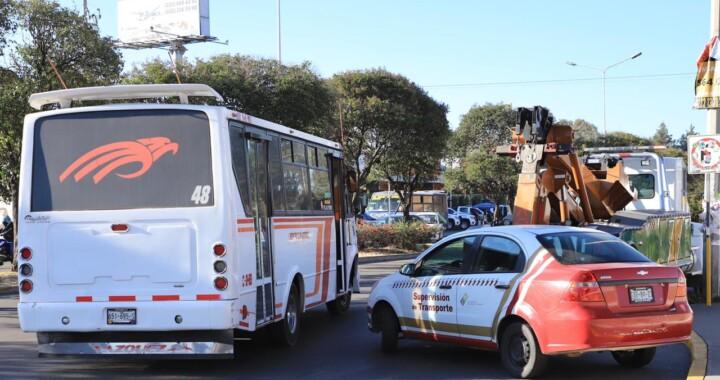 Infracciona Movilidad y Transporte 14 unidades por sobrecupo de pasajeros