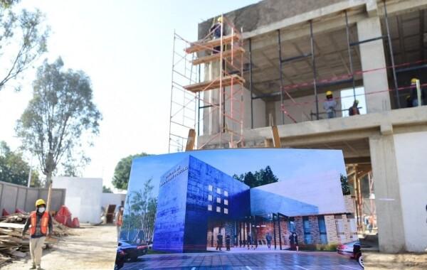 Reportan 40% de progreso del Centro de Despliegue Policial Zona Centro
