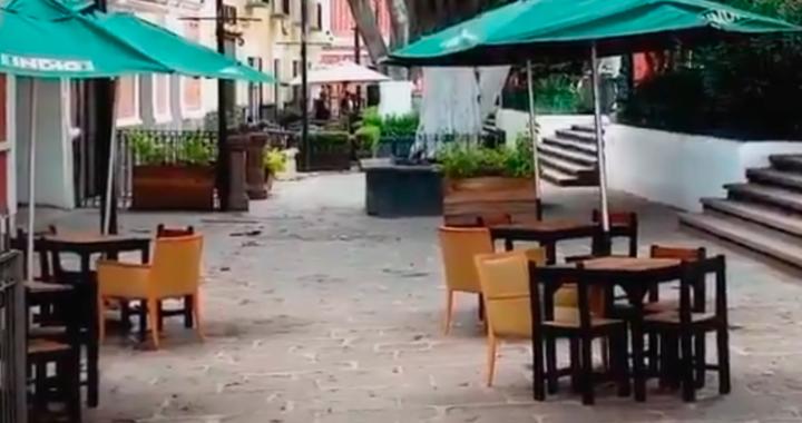 El Cabildo de Puebla da luz verde a la implementación de terrazas móviles