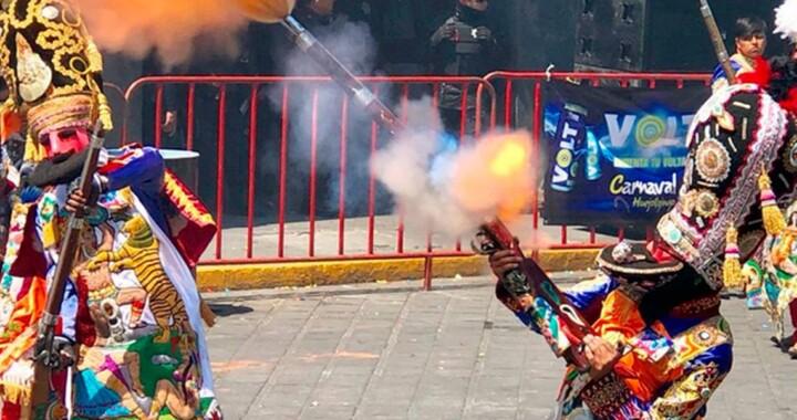 Cancelan carnaval de Huejotzingo por COVID-19
