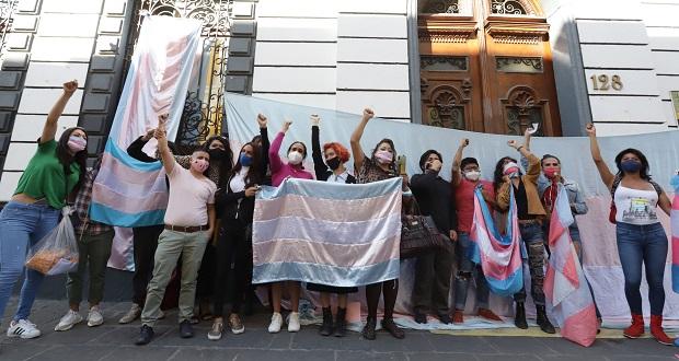 Comunidad trans celebra aprobación de la Ley Agnes en Puebla
