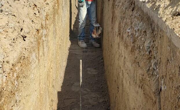 Agua de Puebla realiza la ampliación de la red de agua potable en la colonia San Alfonso