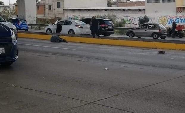 Muere hombre al ser atropellado en la México-Puebla