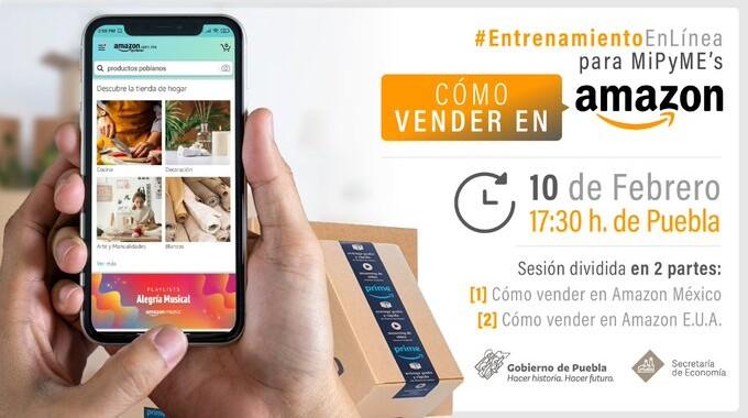 Secretaría de Economía y Amazon desarrollarán taller ¿Cómo vender en Amazon?