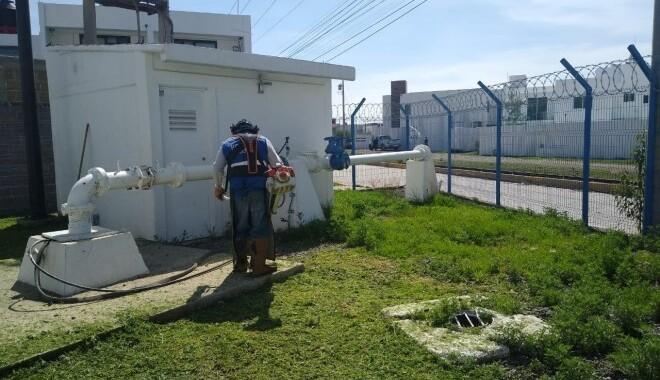 El apagón de luz afectó 19 pozos de Agua de Puebla