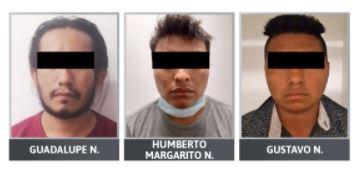 Tres hombres tras las rejas por intento de secuestro y homicidio en Tilapa