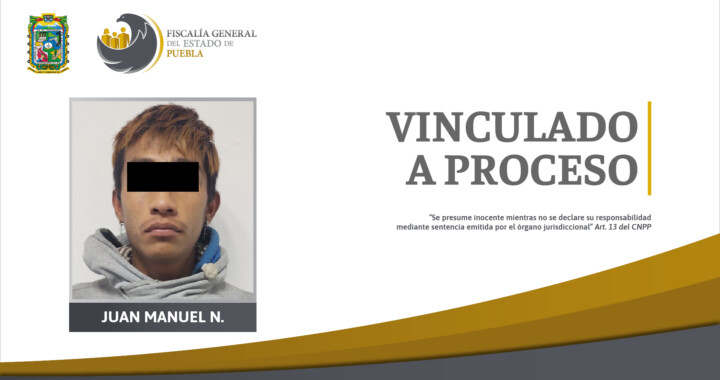 Vinculan a proceso a presunto asesino de estudiante en San Pablo Xochimehuacan