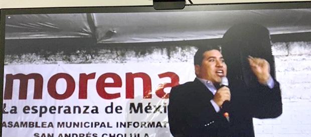 Miguel Angel Quechol se registrará para Presidente Municipal de San Andrés Cholula, por MORENA