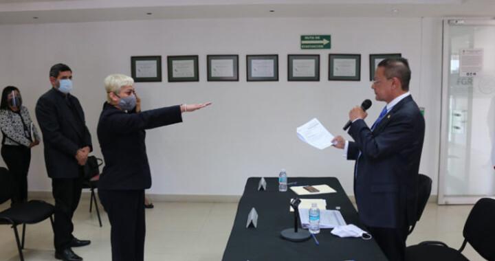 Elizabeth Ibarra es la nueva delegada de la FGR en Puebla