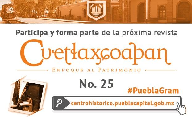 Convocan a participar en la nueva edición de la revistaCuetlaxcoapan
