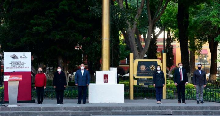 Conmemora Ayuntamiento Aniversario de la Promulgación de la Constitución de 1857 y 1917