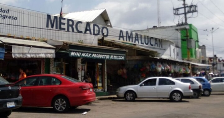 Remodelación del Mercado Amalucan tendrá una duración de aproximadamente siete meses