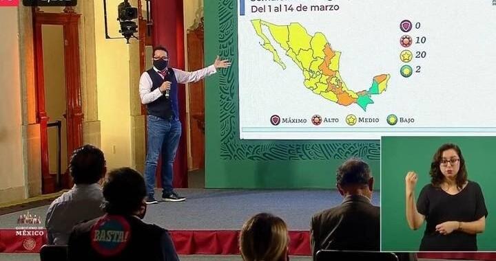 Puebla permanecerá en semáforo naranja por dos semanas más