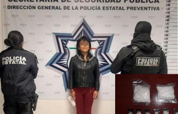 """Detienen a presunta distribuidora de droga de """"La Patrona"""""""