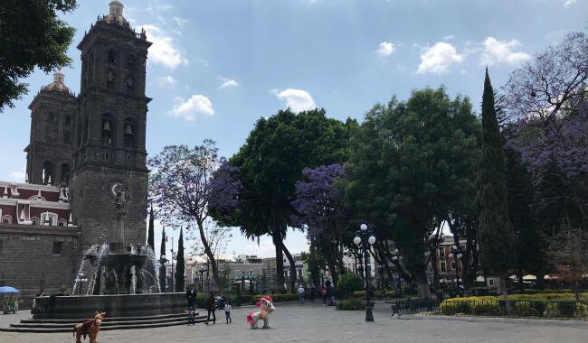 Acuerdan fechas para la remodelación en el Zócalo de Puebla