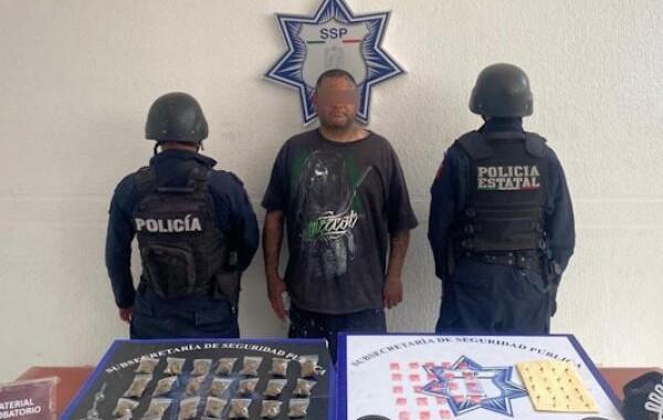 """Detienen por segunda ocasión a """"El Brux"""" en San Felipe Hueyotlipan"""