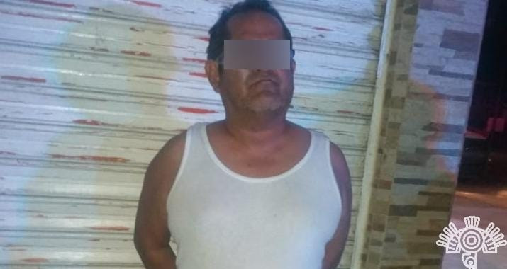 Capturan a presunto distribuidor de droga en la México-Tuxpan