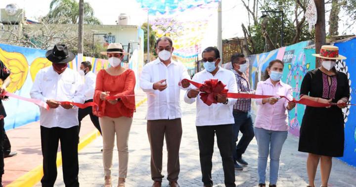 Inauguran corredor turístico 'El Partidor', en Izúcar de Matamoros
