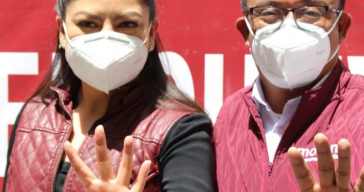 Defiende Garmendia candidatura a la alcaldía de Claudia Rivera Vivanco