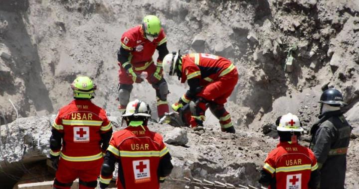 Recuperan tercer cuerpo de trabajador sepultado en derrumbe de San Martín Texmelucan