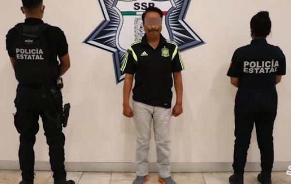 """Capturan a presunto distribuidor de droga de """"La Fayuca"""""""