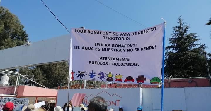 Pobladores deJuan C. Bonillaacusan a Bonafont de secar pozos