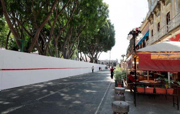 Intervención del Zócalo de Puebla genera más de 2 mil 400 empleos