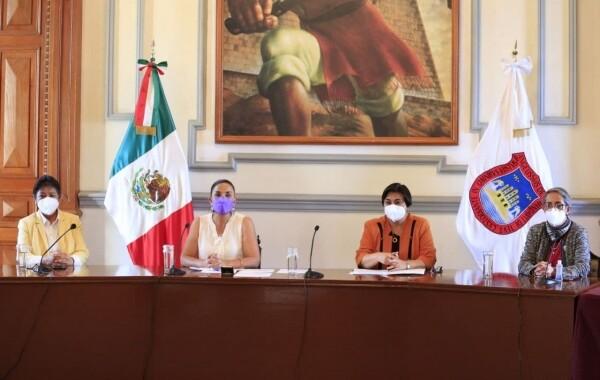 """Inician conferencias virtuales """"Ciudad libre de violencia para las mujeres"""""""