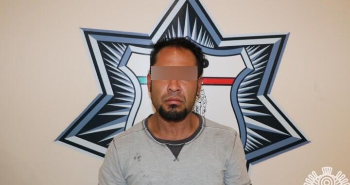 Capturan a presunto narcomenudista en San Pablo Xochimehuacan