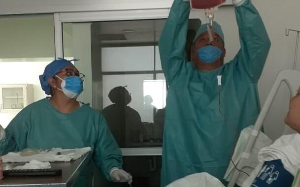 Realiza ISSSTEP trasplante de células troncales