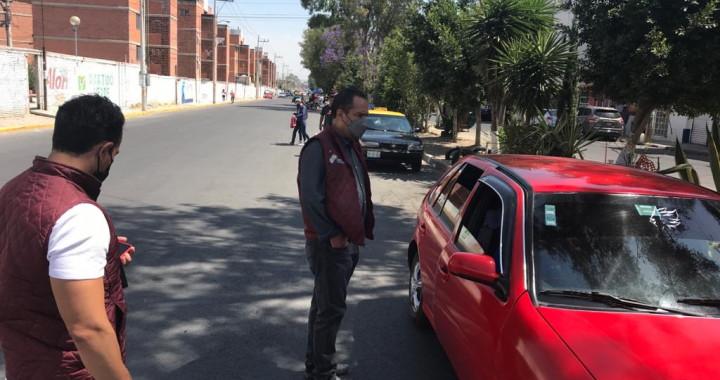 Continúan operativos contra transporte irregular en Puebla