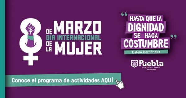 Anuncian actividades virtuales por el Día Internacional de la Mujer