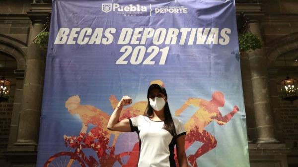 Ayuntamiento de Puebla otorga 54 becas deportivas