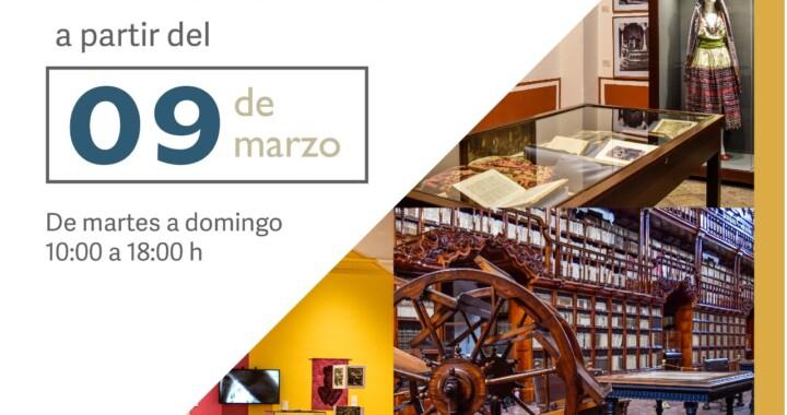 A partir de mañana inicia reapertura de 16 museos